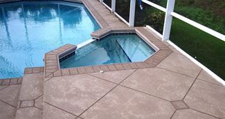 pool deck resurfacing Rogers